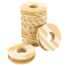100pcs/lot Fishing line Circular Winding plate foam Board Fishing Lure Trace Wire Leader Swivel Tackle gear accessories