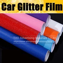 "20X152CM(8""x60"")/Lot Car Styling & free shipping Glitter Wrap Sticker with air bubble Glitter Vinyl Film for car vinyl wrapping"