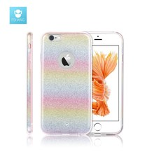 Buy FSHANG Rainbow Cover iPhone 6 6S 7 plus Case 3in1 Stitch Glitter Luxury PC Soft TPU Coque Cases Bling iphone 6S S 7plus for $6.93 in AliExpress store