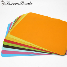 DoreenBeads Silicone Mats Baking Liner Oven Mat Heat Insulation Pad Coasters Bakeware Dining Table Mat 40cm x30cm, 1 Piece
