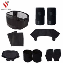 11pcs/set Tourmaline Self-heating Belt Magnetic Therapy Neck Shoulder Posture Correcter Knee Support Brace Massager Products(China)