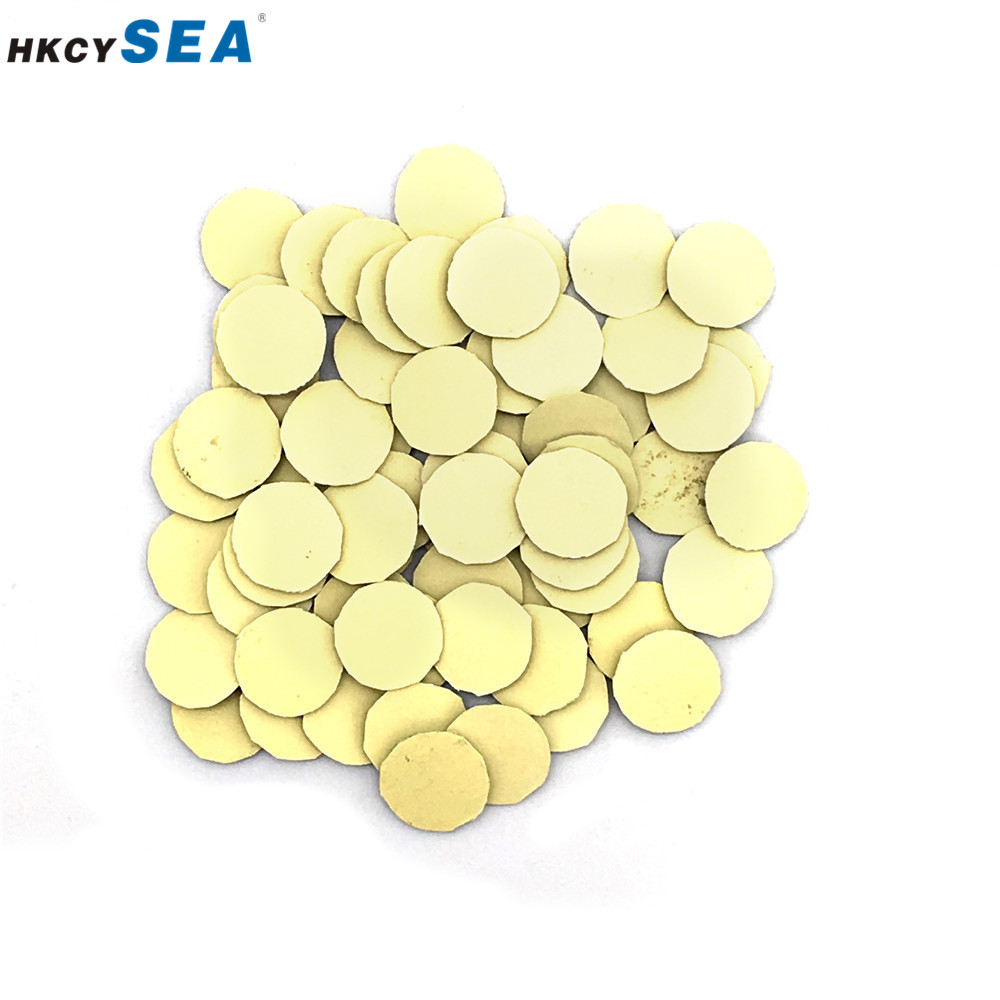 HKCYSEA 50pcs/100pcs 14mm Resin Epoxy Crystal Replacement Logo for KD/VVDI Folding Flip Remote Car Key Shell Sticker(Silica gel)(China)