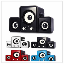 Super Bass YD - UP 2.1 USB Portable Multimedia Speaker 3.5mm Audio Small Stereo Subwoofer LoudspeakersFor iphone Samsung MP3