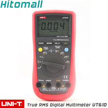 Professional True RMS Auto Range 6000 Counts Resistance Capacitance Frequency RS232 UNI-T Digital Multimeter UT61D Unit(China)