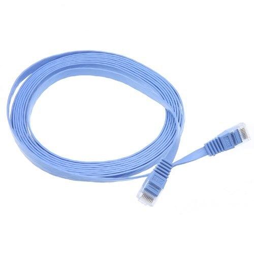 Bulk Price 3 metres CAT6 Ethernet Cable Lan Flat Network Electrical ...