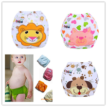 Washable Cloth Nappy Baby Diaper Washable Baby Pocket Nappy Cloth Reusable Diaper  Cover Wrap 5284