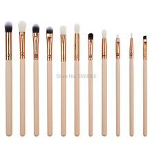 12Pcs Professional Makeup Brushes Sets Maquiagem Maquillage Cosmetics Make up Brushes Eyebrow Eyes Concealer Pinceis Brush Set