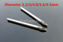 1pc K713 Triangle Bit Tile Glass Bit Alloy Punching Bit All Sorts of Size Free Shipping Russia