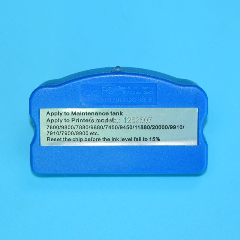Epson 7800 9800 7450 9450 11880 7700 9700 7880 9880 Maintenance Chip Resetter
