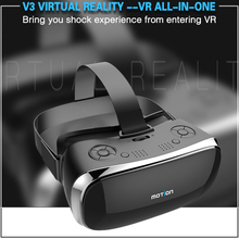 2017 New Motion V3 VR All In One Glasses RK3288 Quad core 2G Ram 16G Rom 5.5 inch FHD 1080P Display 3D Glasses Virtual Reality(China)
