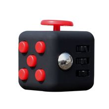 2017 New 12 Colors Magic Fidget Cube a vinyl desk Toys Fidget Cube Anti Irritability Toy Cobe Funny Gift Stock For Child&Adult
