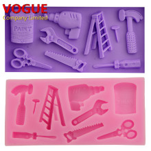 Repair Tools Shape Silicone Mold For DIY Sugarcraft Fondant Cake Decor N1996(China)
