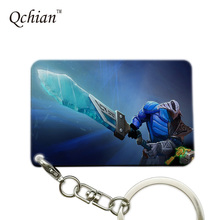 Hot Game DOTA2 Series Printed Car Keychain or HandBag Ornaments Pendant Keyring Pretty Nice Gift Pictures can be Customized