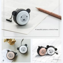 Mini Animal Bluetooth Speaker Portable Cartoon Outdoor Music Player Stero Loundspeakers Support Self Timer Handsfree