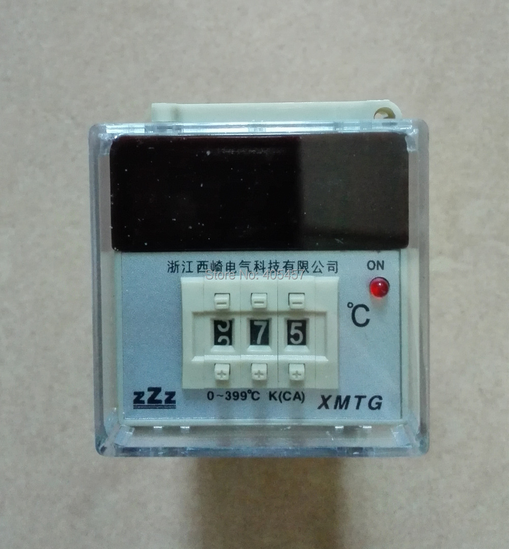 CG  XMTG-1301 digital display temperature controller  48*48mm, 0-399 degrees celsius K type thermostat<br><br>Aliexpress