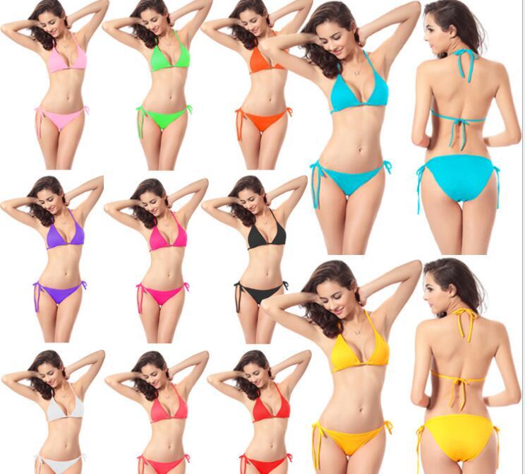 2017 new female  bikini swimsuit women sexy swimwear bikini bathing suits push settings tights<br><br>Aliexpress