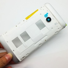 Original Front Bezel Housing LCD Frame For HTC One Dual Sim 802t 802d 802w M7 Front Housing Faceplate