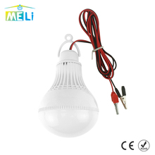 High Power LED Lamp 12V Portable Led Bulb 3W 5W 7W 9W 12W SMD 5730 Outdoor Camp Tent Night Fishing Hanging Light lamparas 6000K(China)