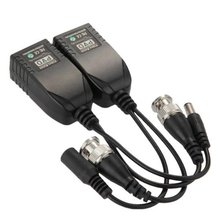 SCLS New Pair Transmitter Receiver Cable UTP RJ45 Passive Video Balun for CCTV Camera