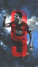 Luis Suarez - MSN Barcelona Soccer Top Player 50*70cm Poster