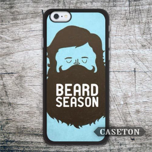 Beard Season On Blue font b Case b font For font b iPhone b font 7
