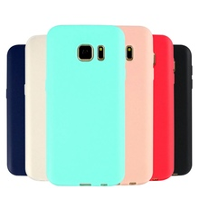 Solid Candy Color Silicone Rubber Case Matte Back Cover Capa Coque For Samsung Galaxy j5 2016 j510 j510f j5108 Cellphone nf304
