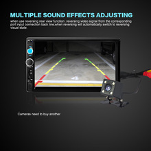 2 Din Car Video Player DVD 7'' HD Touch Screen Bluetooth Stereo Radio Car MP3 MP4 MP5 Audio USB Auto Electronics In Dash