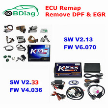 2017 Newest V2.33 KESS V2 OBD2 Manager Tuning Kit V4.036 + V2.13 K-tag ECU Programming Tool V6.070 , KESS KTAG No Token DHL Free