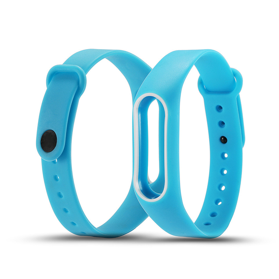 Teyo Colorful Wristband For Xiaomi Mi Band 2 Smart Accessories Replacement Silicon Strap For Xiaomi MiBand 2 Durable Anti Lost 5
