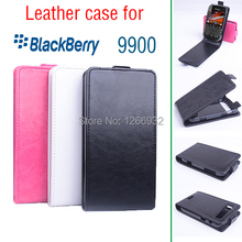 Brand New Durable Bag For Blackberry 9900 Business Phone Case PU Leather Flip Case Cover Book Case Smartphone Shell Accessories