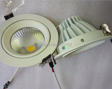 "10pcs Newest 4""6""7""10W 15W 20W LED COB downlight Recessed LED Ceiling light Spot Light Lamp Cold/ White/ Warm white led lamp"