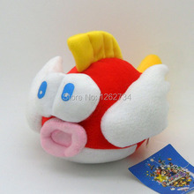 Free Shipping EMS 30/Lot Super Mario Bros Plush Flying Fish Soft Toy 6""