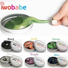 IWObabe Magnetic Plasticine Mud Playdough Slime Magnetic Rubber Strong Putty Magnetic Clay Education Novelty Toys Gift for Kids