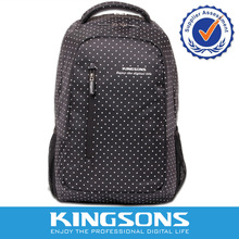Kingsons for 15.6 inch Laptop vacuum shock proof Laptop backpack wave point leisure bag female backpack bag Student Bag(China)