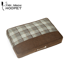 Hoopet pet warm kennel mattress teddy mat medium large dog bed cat pad house pet home(China)