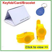 rfid card token wristband