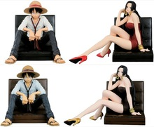 Anime One Piece CREATOR Monkey D Luffy Boa Hancock PVC Action Figures Collectible Model Kids Toys Doll 12CM