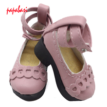 6.3CM princess Shoes For 1/4 Bjd Shoes LOVELY Doll Shoes Msd SD BJD Shoes Doll Accessories