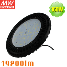 500W Halogen Replacement 160W LED High Bay UFO 3030 SMD Warehouse Highbay Fixture UL ULC Meanwell Driver 0-10V Dimmable(China)