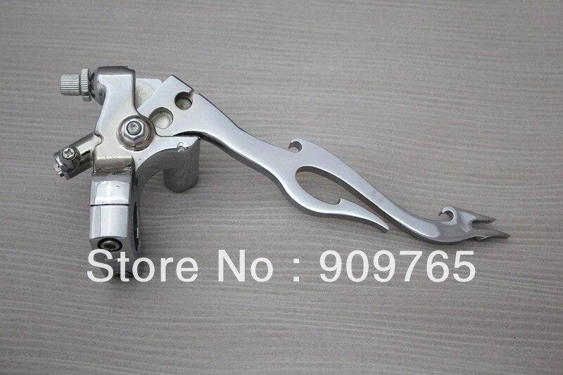 Chrome 1 25mm Handlebar Control Left Brake Clutch Lever For Honda Shadow Suzuki Yamaha Kawasaki Harley Custom Cruiser touring<br><br>Aliexpress