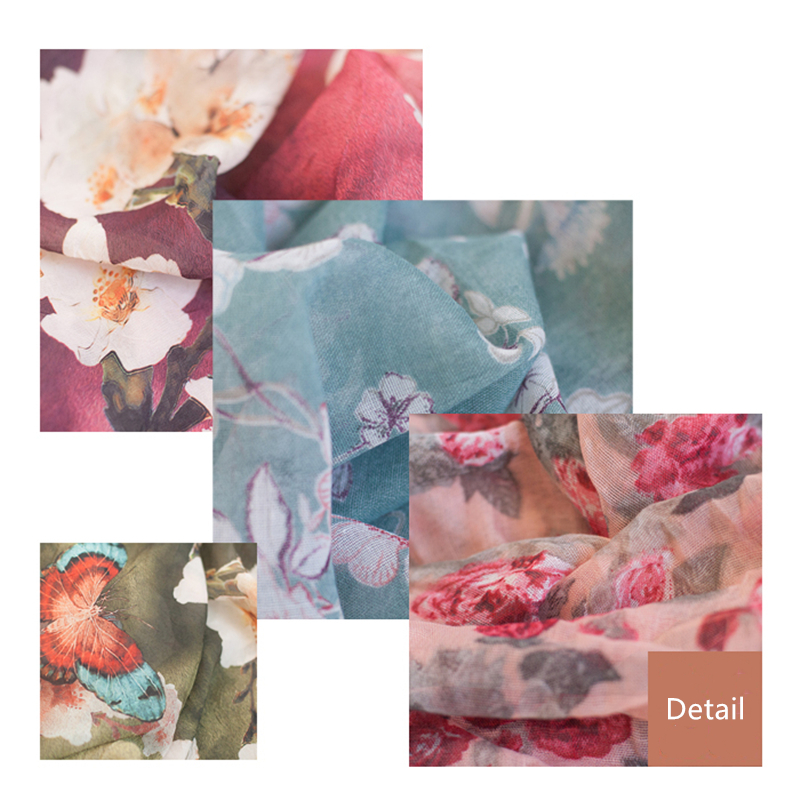Fashion Newborn Baby Photography Props Floral Wrap Blanket Decorative Baby Shooting Flower Mat Retro Infant Photo Accessories 14