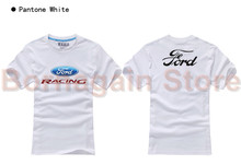 Women and men's Ford t shirt short-sleeved cotton t-shirt 4S shop