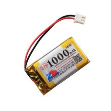 In 402540*2 3.7V 1000 Ma lithium polymer battery electronic dog story King learning machine Li-ion Cell