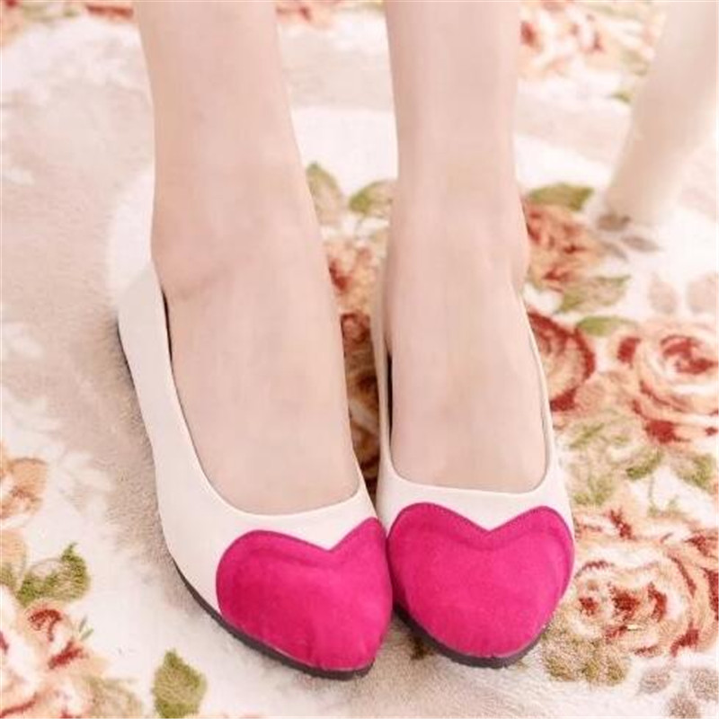 2017 Fashion flat shoes women High Quality shoes woman Comfortable ladies shoes shallow heart-shaped women Casual Shoes X255<br><br>Aliexpress