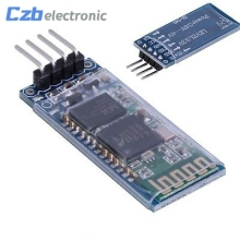 HC06 HC-06 Wireless Serial 4 Pin Bluetooth RF Transceiver Module RS232 TTL for Arduino bluetooth module(China)
