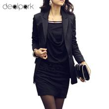 2017 Fashion Autumn Elegant Office Dress Women Slim Mini Dress Long Sleeve Sexy OL Dress female One-piece Casual Cheap Clothes(China)