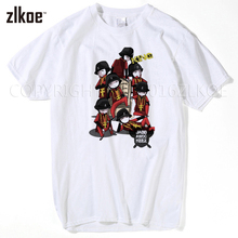 2017 Summer Fashion Jabbawockeez T Shirts Men Letter Printed Hip Hop T Shirts tops tees men's t-shirt casual shirt