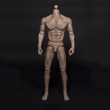 AT012 1/6th Male Muscular Body For Wolverine Figure Head Fit HT Hot Toys Head Sculpt Collectible Toys In Stock(China)