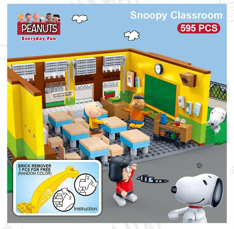 BanBao 7501 Snoopy Classroom Plastic Building Block 19