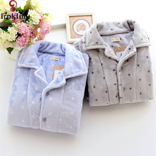 Men Flannel Pajamas sets Winter Man Pyjama Suits Thick Christmas Nightclothes Casual Thick Home Lounge SY751